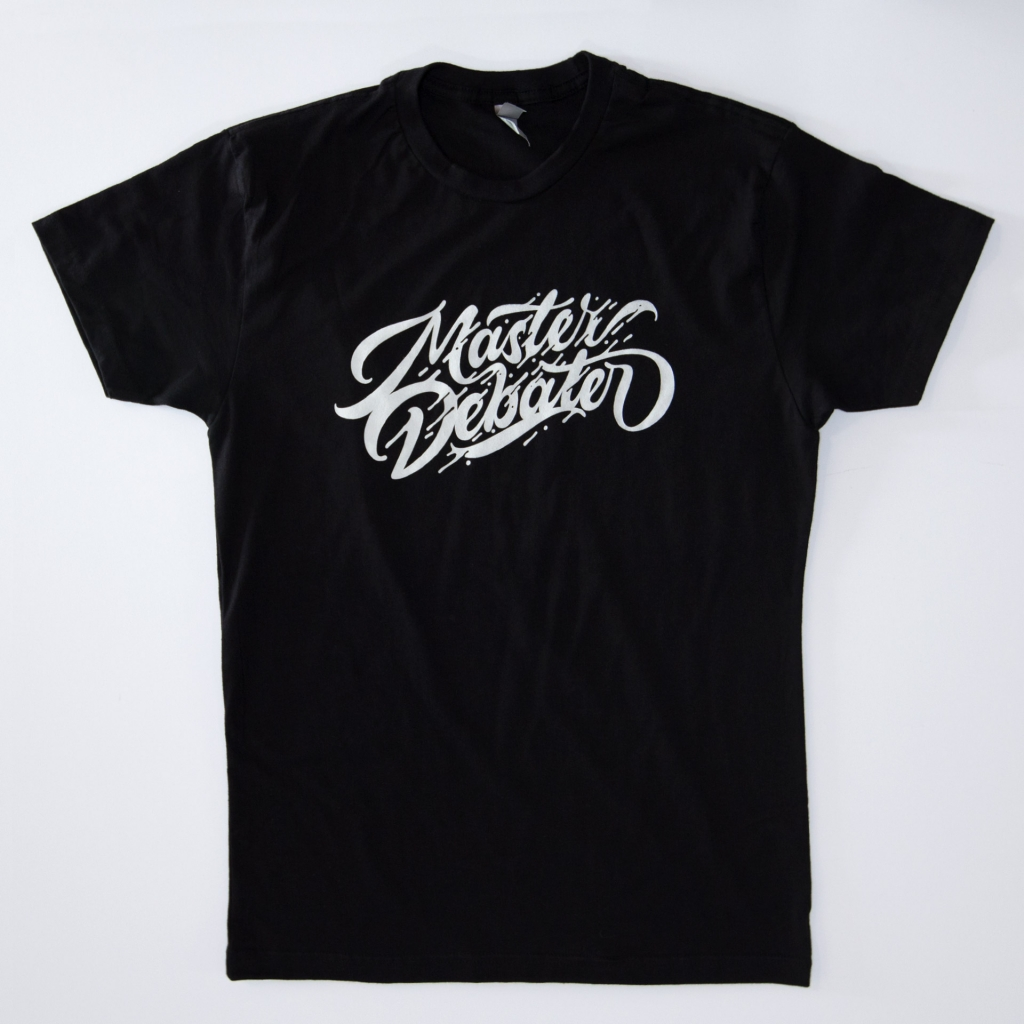 Master Debater Tee - White - The Futur